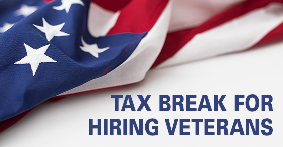 Tax Benefits of Hiring Veterans